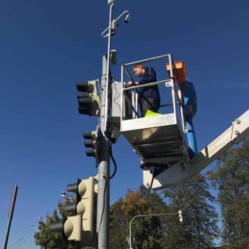Instalace semaforů