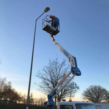 Opravy veřejného osvětlení